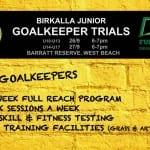 Goalkeeper Trials