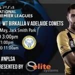 R10 Preview: WT Birkalla v Adelaide Comets