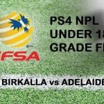 Under 18's to play in the GRAND FINAL