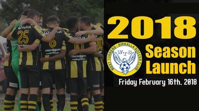 2018 Season Launch banner