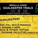 Goalkeeper Trials