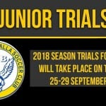 2018 Club Trial Info