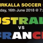 Watch Australia take on France