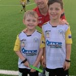 Ryan Kitto from Adelaide United visits home
